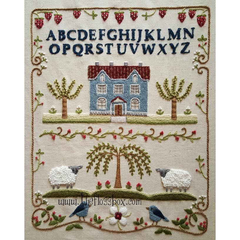 Fobbles, samplers, charts, embroidery, patchwork, needlework accessories and more