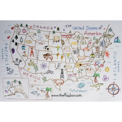 State Map Embroidery Patterns