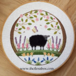 Sheep in the Garden Embroidery