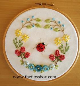 Ladybug Floral