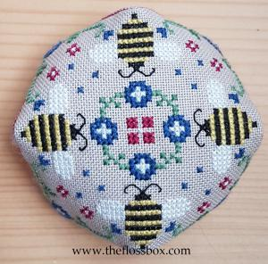 Bee Biscornu