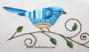 Bird in Blue