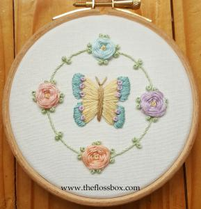 Butterfly floral 1