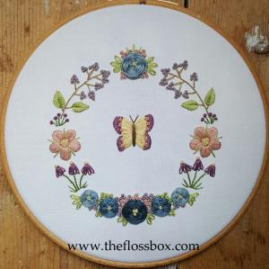 Butterfly floral 6