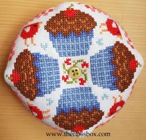 Cupcake Biscornu