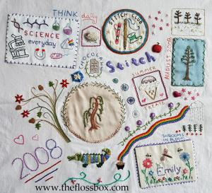 Doodle Cloth Embroidery