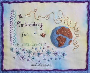 Embroidery for a better world