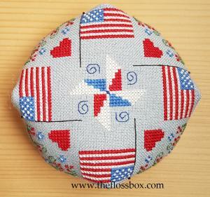 Flag Biscornu