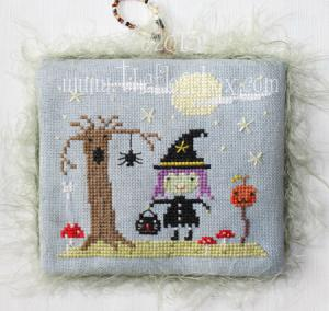 Halloween Witch Cross Stitch