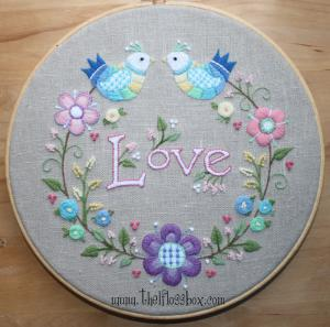 Love Crewel Embroidery
