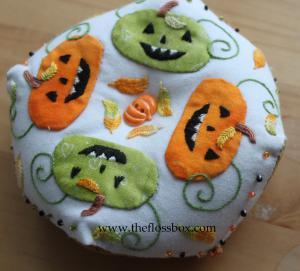 Pumpkin Biscornu