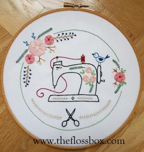Sewing Floral