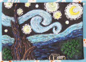 Starry Night ATC