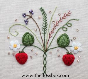 Strawberry Stumpwork