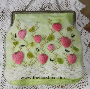 Strawberry Picnic Purse