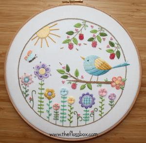 Summer Sunshine Embroidery